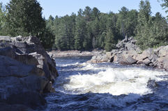 White water rapids Royalty Free Stock Photo