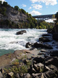 White Water Rapids Stock Photography