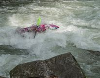 White Water Rifting Stock Photo