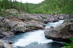 White water river Royalty Free Stock Image