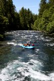 White water river rafting Royalty Free Stock Images