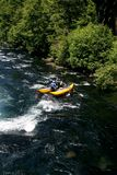 White water river rafting Stock Image