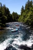 White water river rafting Royalty Free Stock Photography