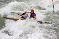 White Water Slalom Stock Image