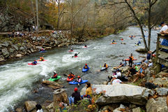 White water sports Royalty Free Stock Images
