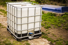 White water tank Stock Photography