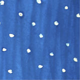 White watercolor spots on blue back Stock Photography