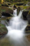 White waterfall Stock Image