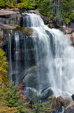 White Waterfalls North Carolina, Stock Image