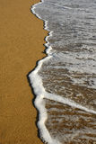 White wave Stock Photo