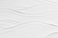 White wave plaster texture. Light modern abstract background. Stock Photos