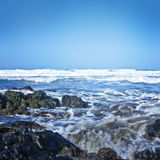 White waves Stock Photography