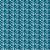 Water Ocean Waves Seamless Pattern. White waves on a water blue background. Background seamless pattern texture Stock Images