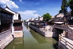Luzhi Water Town Suzhou China stock photos