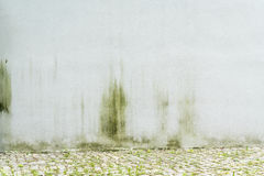 White, weathered wall for backgrounds stock photography