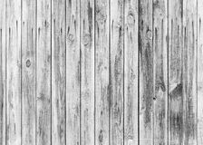 White weathered wooden wall photo texture Royalty Free Stock Photography