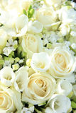 White wedding arrangement Stock Photo