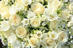 White wedding arrangement Royalty Free Stock Photos