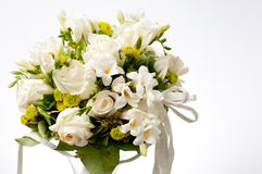 White wedding bouquet Stock Photo