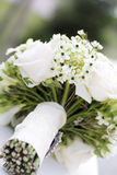 White wedding bouquet Royalty Free Stock Photos