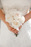 White Wedding Bouquet Stock Photos