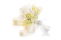 White Wedding bouquet Royalty Free Stock Image