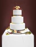 White wedding cake Stock Photos