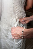 White wedding Dress Stock Photography