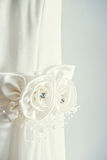 White wedding dress Royalty Free Stock Photography