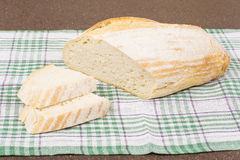 White wheat bread Stock Photos