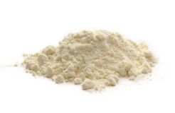 White wheat flour Stock Photo