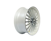 White wheel Royalty Free Stock Photo