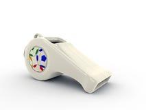 White whistle Stock Photo
