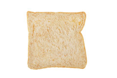 White whole wheat bread slice Royalty Free Stock Photography