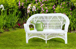 White Wicker Royalty Free Stock Photos
