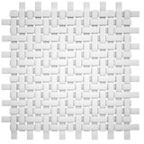 White wicker canvas Royalty Free Stock Photo