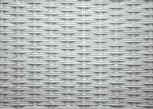 White Wicker Pattern Stock Images