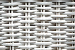 White Wicker Royalty Free Stock Photography