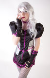 White Wig and Costume Stock Photography