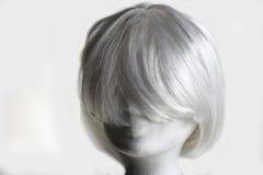 White wig Royalty Free Stock Image