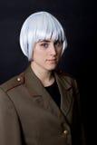 White wig Stock Image