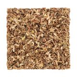 White Willow Bark Herb. Used in alternative herbal medicine and has pain relieving and anti inflammatory properties and is similar to aspirin in its effects, on Stock Photo