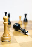 White win. checkmate. This is checkmate. white win royalty free stock photography