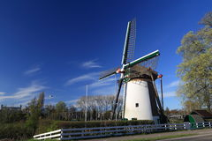 White windmill Stock Photos