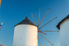 White windmill Royalty Free Stock Images