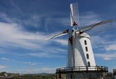 White windmill, Tralee, Ireland. royalty free stock photos