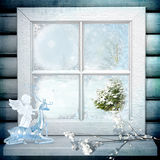 White window Royalty Free Stock Photo