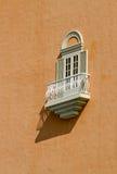 White window and balcony Stock Photography