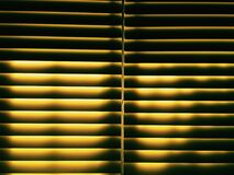 White Window Blinds Stock Photography
