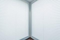 White Window Blinds royalty free stock photos